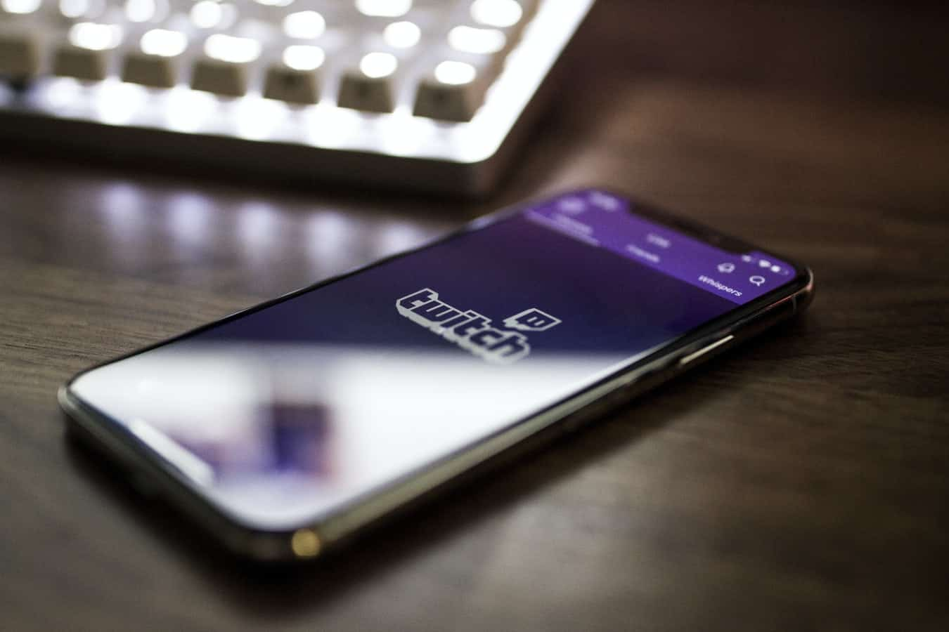 Twitch on phone